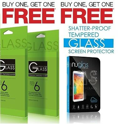 GENUINE TEMPERED GLASS SCREEN PROTECTOR FOR APPLE IPHONE 5 6 6S  7 & 7 Plus