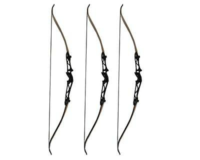 40lbs 70'' Takedown Recurve Bow Right Hand Hunting Archery Longbow Alloy Riser