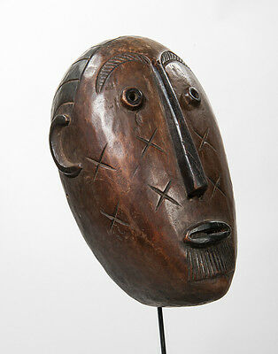 Lengola Face Mask, D.R. Congo, Old South African Collection, African Tribal Art