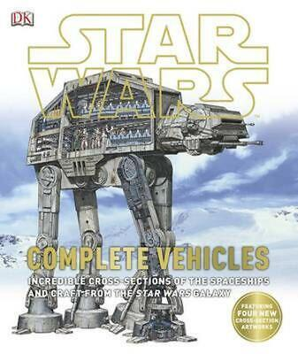 Star Wars Complete Vehicles by Dk Hardcover Book