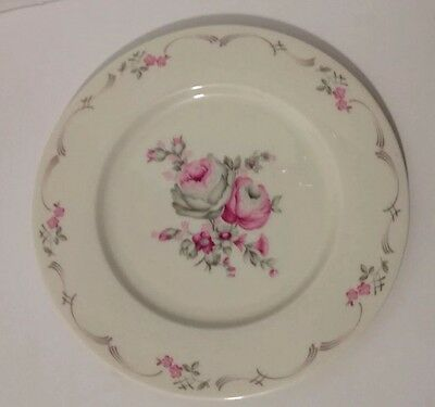 "Vintage Castleton BELROSE China 10.75"" Shabby Chic Dinner Plate 434592 EUC"
