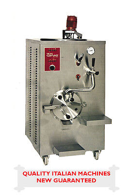 ITALIAN COMMERCIAL ICE CREAM MACHINE - Pasteurizer and Batch Freezer