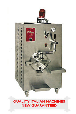 Ice Cream Maker - Commercial - Made Italy - Pasteurizer & Batch Freezer