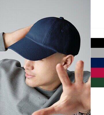 Beechfield: Unisex Baseball Cap, Mütze * Low Profile Heavy Cotton Drill B58 NEU