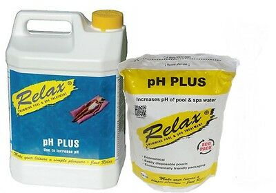 Swimming Pool Chemicals Relax Ph Plus Increaser 1Kg 5Kg **fast Delivery**