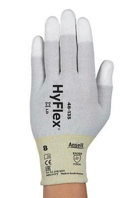 Ansell 48-135 PU Fingertip ESD Anti Static Work Gloves Smart Phone PC Repair