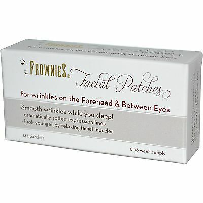 FROWNIES FACE AND FOREHEAD TREATMENT 144 pads