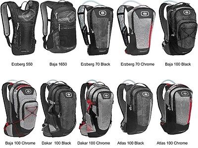 OGIO Hydration Pack Motorcycle / ATV / MTB / MX Backpack Water Bladder H2O