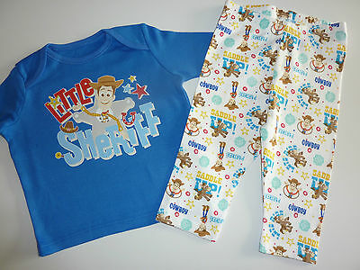 "Disney TOY STORY ""Little Sheriff"" PJ's NEW"
