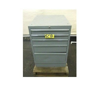 5 Drawer Tool Cabinet Shop Equipment Chest Storage Box Industrial Style