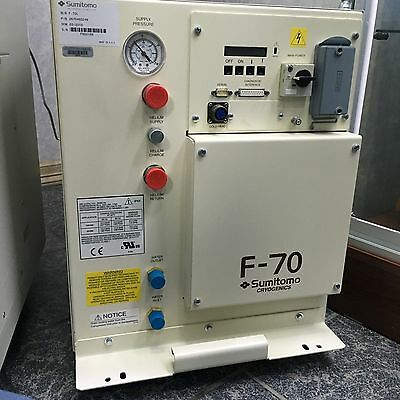 Sumitomo F-70 HELIUM COMPRESSOR -- EXCHANGE REQURIED  -- CAN SELL OUTRIGHT TOO