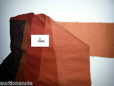 Dorr Rug Hooking WOOL - Beautiful - Your choice of many-Custom STRIPS CUT FREE