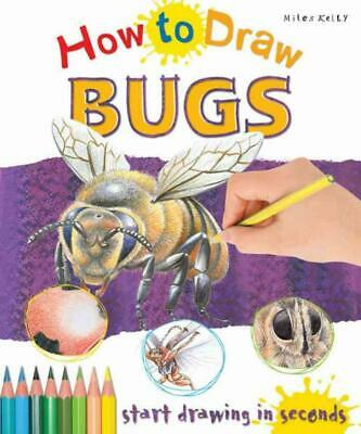 How to Draw Bugs by Steve Capsey Paperback Book (English)