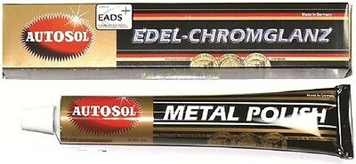 AUTOSOL METAL CLEANING POLISH 100g TUBE CRUISER CAFE RACER RIM CLEANER