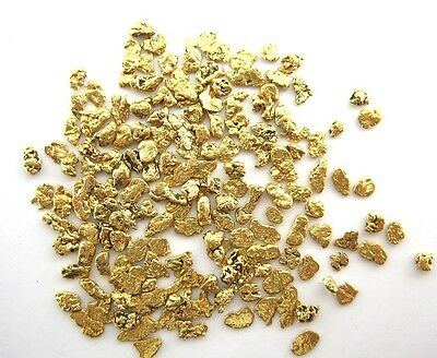 Alaskan Yukon BC  Gold Nuggets  14-12 Mesh .15 Troy Oz 4.65 Grams or  3 DWT