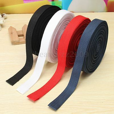 25mmx20m/Roll Nylon Tape Strap For Webbing Bag Strapping Belt Making DIY Craft