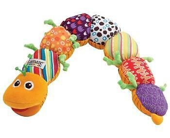 Tomy Lamaze LC27107 Play & Grow Baby Toy Musical Worm Colours Electronic Sounds