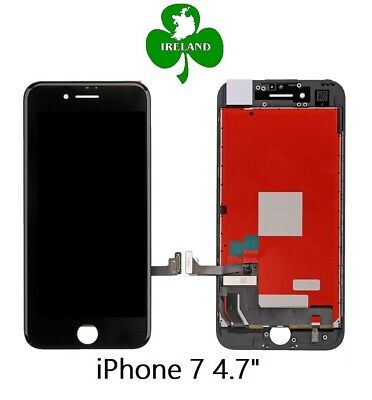 For Apple iPhone 7 LCD Touch Screen Display Digitizer Glass Assembly Unit Black