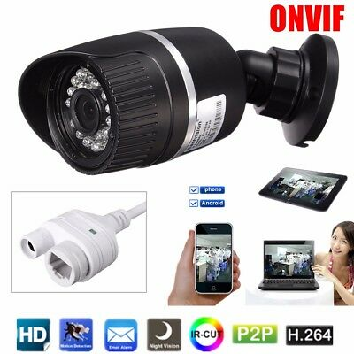 720P IP Camera Network CMOS Onvif Outdoor Security Waterproof IR Night Vision