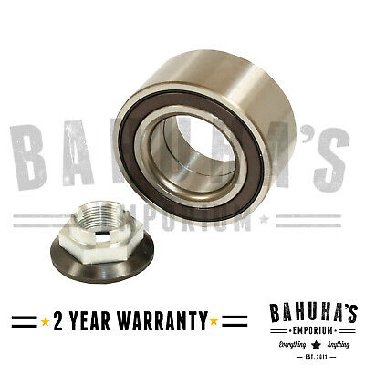 Ford Mondeo Mk3 Front Wheel Bearing Kit & Nut With Abs 2000-2007