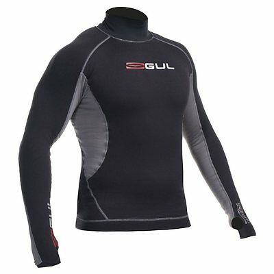 Mens Gul Evotherm Long Sleeve Thermal Rash Guard Vest