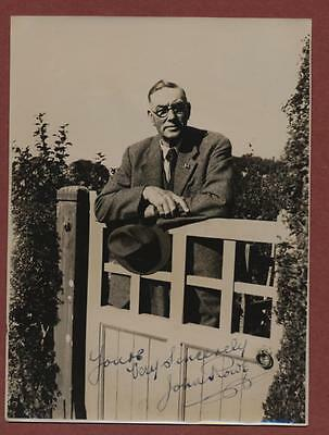 Sussex  Golfer 'John Rowe' signed  vintage  photograph  fd.33