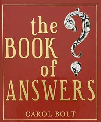 The Book of Answers-Carol Bolt