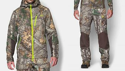 Under Armour Scent Control Storm Barrier Jacket or Pants Realtree Xtra Camo/Hunt