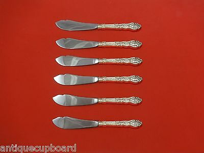 """Versailles by Gorham Sterling Silver Trout Knife Set 6pc. HHWS  Custom 7 1/2"""""""