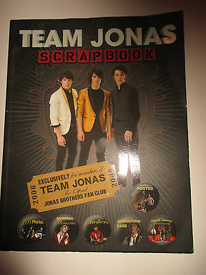 Team Jonas Scrapbook 2008 Exclusively for members of Team Jonas - Fan Club