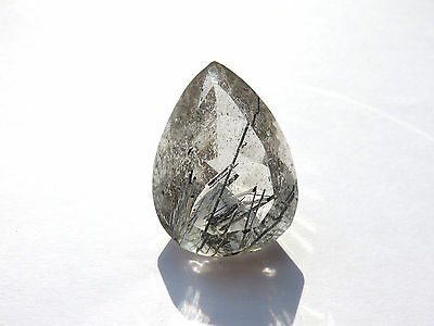 Turmalinquarz - Tourmalinequartz facett. 34,3x25,7 mm 79 ct. U13498