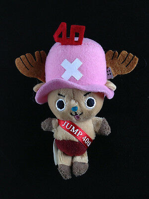One Piece Plush Doll Mascot Strap JUMP 40th Anniversary Tony Tony Chopper