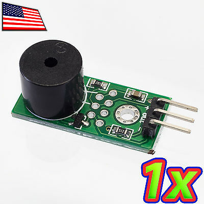 Loud Active Piezo Buzzer Sound Audio Beep Alarm Driver Module for Arduino