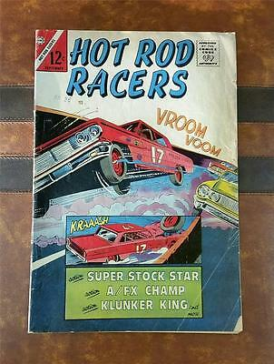 HOT ROD RACERS COMIC No.5 SILVER AGE CHARLTON SEPT 1965 12c * STOCK CAR RACING