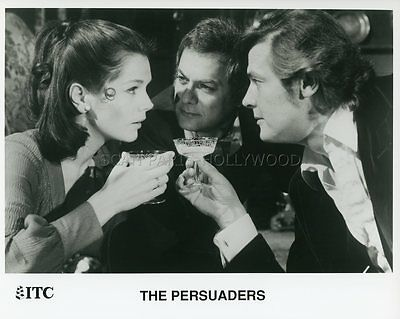 Tony Curtis  Roger Moore The Persuaders Amicalement Votre 1971 Vintage Photo #8