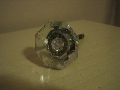 Vintage Ornate Glass Door Knob