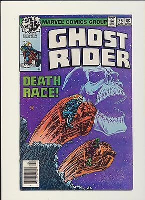 Ghost Rider #35 Starlin Classic Death Race Story! See High Res Scans! Key! Wow!