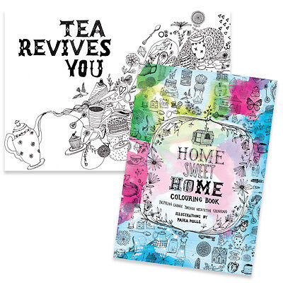 New Home Sweet Home Colouring Book Adult Relaxation Meditation La La Land Home
