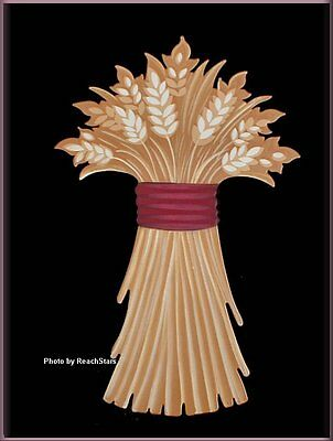 WHEAT STALK MAGNET EMBELLISH YOUR STORY by ROEDA FREE U.S. SHIPPING
