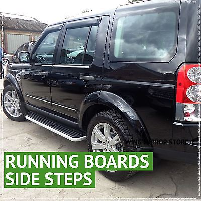 Running Boards, Side steps For Land Rover Discovery 2004-2016