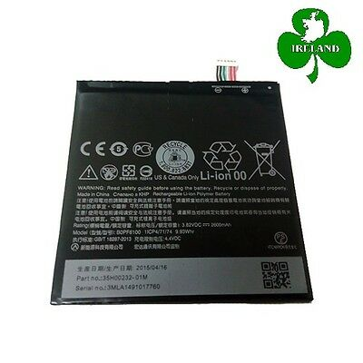 FOR HTC DESIRE 820 NEW GENUINE INTERNAL BATTERY REPLACEMENT 2600mAh BOPF6100