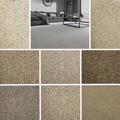 100% Wool Carpet - Creams & Beiges - Quality, Hardwearing - £6.99 per m²