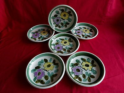"""6 assiettes creuse boch service """"in the mood""""(2)"""