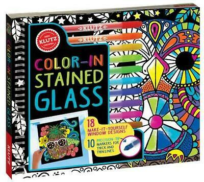 Color in Stained Glass by Barbara Kane Book & Merchandise Book (English)