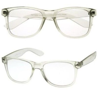 Classic clear frame reading glasses - simple unisex readers
