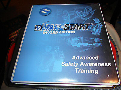 Safestart Advanced Safety Awareness Training In Binder Wbook And 4 Dvd Box New