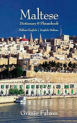 Maltese-English/English-Maltese Dictionary and Phrasebook: Maltese-English, Engl