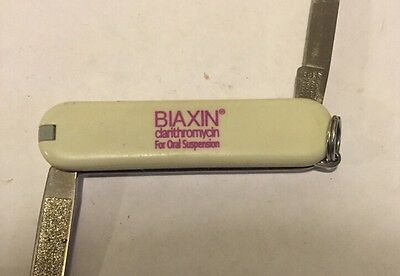 Biaxin  Pharmaceutical Victorinox Swiss Army Knife