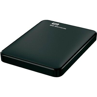 "WD Elements Portable 1TB USB 3.0 (WDBUZG0010BBK) 2,5"" externe Festplatte 1000GB"