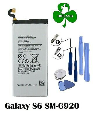 FOR SAMSUNG GALAXY S6 G920 NEW GENUINE  BATTERY REPLACEMENT EB-BG920ABE  + Tools